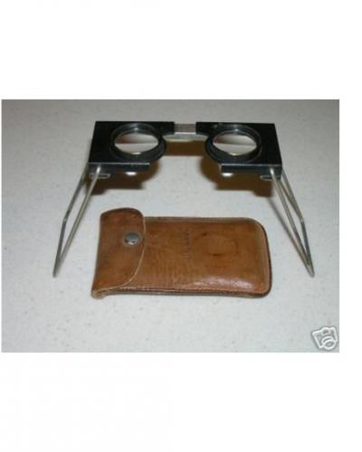 A photo of an aerial stereoscope