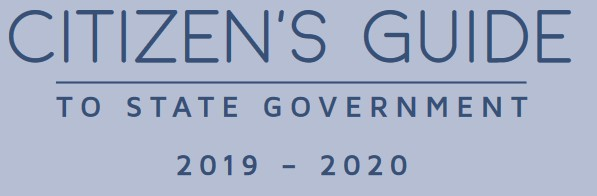 Citizen's Guide to State Government, 2019-2020