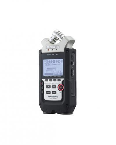 Zoom H4N handheld audio recorder photo
