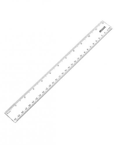 A photo of a ruler