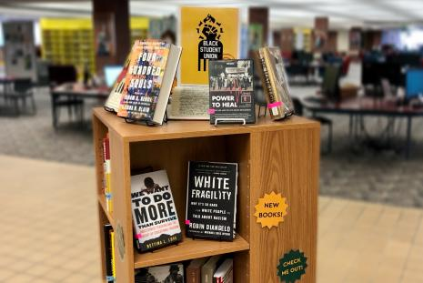 Black Student Union Book Display