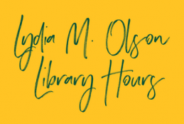 Olson Library Hours